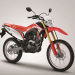 Honda CRF150L press front right quarter