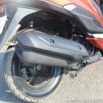 Honda Grazia first ride review exhaust