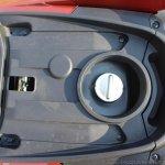 Honda Grazia first ride review fuel lid