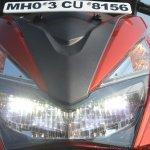 Honda Grazia first ride review headlight high beam