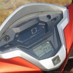 Honda Grazia first ride review instrument cluster