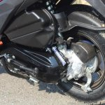 Honda Grazia first ride review rear suspension and brake