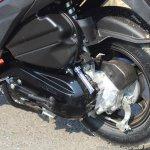 Honda Grazia first ride review rear suspension and brake