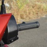 Honda Grazia first ride review right switchgear