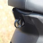 Honda Grazia first ride review seat hook