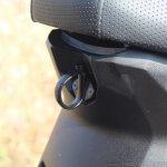 Honda Grazia first ride review seat hook