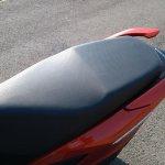 Honda Grazia first ride review seat