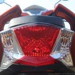 Honda Grazia first ride review tail light