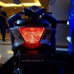 Honda Grazia launch blue tail light