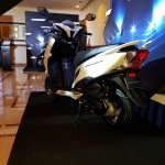 Honda Grazia launch white rear left quarter