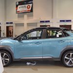 Hyundai Kona left side at 2017 Dubai Motor Show