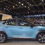 Hyundai Kona profile at 2017 Dubai Motor Show