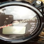 Indian Scout Bobber spied instrument cluster