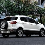 Indian-spec 2018 Ford EcoSport rear three quarters