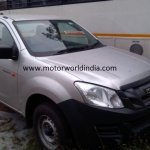 Isuzu D-Max Spark spied in India