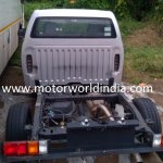 Isuzu D-Max Spark spied rear view