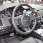 Jaguar E-Pace First Edition dashboard at 2017 Dubai Motor Show
