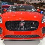 Jaguar E-Pace First Edition front at 2017 Dubai Motor Show