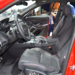 Jaguar E-Pace First Edition front seats at 2017 Dubai Motor Show