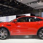 Jaguar E-Pace First Edition profile at 2017 Dubai Motor Show