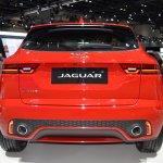 Jaguar E-Pace First Edition rear at 2017 Dubai Motor Show