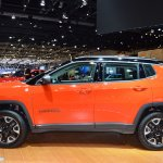 Jeep Compass Trailhawk profile at 2017 Dubai Motor Show