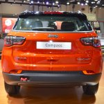 Jeep Compass Trailhawk rear at 2017 Dubai Motor Show