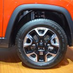 Jeep Compass Trailhawk wheel at 2017 Dubai Motor Show
