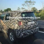 Jeep Renegade spied in India with 2.0 L diesel