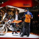 KTM 790 Adventure R Prototype left side at 2017 EICMA