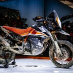 KTM 790 Adventure R Prototype right side at 2017 EICMA