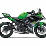 Kawasaki Ninja 650 KRT Edition press shot right side