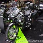 Kawasaki Versys-X 300 Camo Edition front left quarter at 2017 Thai Motor Expo