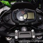 Kawasaki Versys-X 300 Camo Edition instrument cluster at 2017 Thai Motor Expo