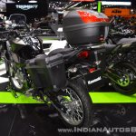 Kawasaki Versys-X 300 Camo Edition rear left quarter at 2017 Thai Motor Expo