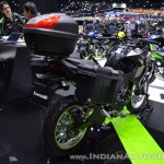 Kawasaki Versys-X 300 Camo Edition rear right quarter at 2017 Thai Motor Expo