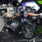 Kawasaki W250 front right quarter at 2017 Thai Motor Expo