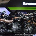Kawasaki W250 right side at 2017 Thai Motor Expo