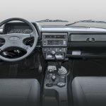Lada 4x4 (Lada Niva) 3-door interior dashboard