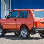 Lada 4x4 (Lada Niva) 3-door rear three quarters