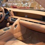 Lexus Fluidity of Hybrid Electric concept dashboard side view at 2017 Dubai Motor Show