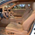 Lexus Fluidity of Hybrid Electric concept front seats at 2017 Dubai Motor Show