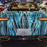 Lexus Fluidity of Hybrid Electric concept rear at 2017 Dubai Motor Show