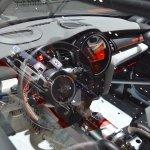 MINI John Cooper Works GP Concept dashboard at 2017 Dubai Motor Show