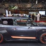 MINI John Cooper Works GP Concept right side at 2017 Dubai Motor Show