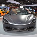 MSO Bespoke Mclaren 720S front at the 2017 Dubai Motor Show