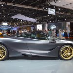 MSO Bespoke Mclaren 720S right side at the 2017 Dubai Motor Show