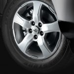 Mahindra Scorpio 2017 facelift alloy wheels
