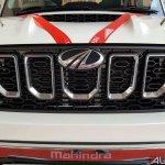 Mahindra Scorpio 2017 facelift chrome grille
