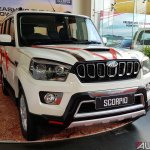 Mahindra Scorpio 2017 facelift front angle